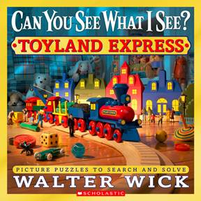 TOYLAND EXPRESS By Walter Wick