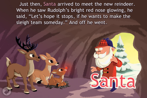 Rudolph the Red-Nosed Reindeer App Review