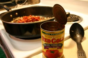 Marci's Chili Using Red Gold Tomatoes