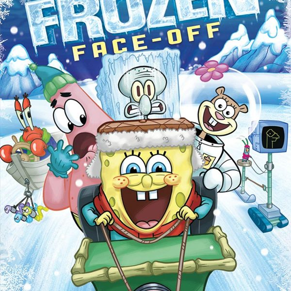 Spongebob's Frozen Face-Off DVD