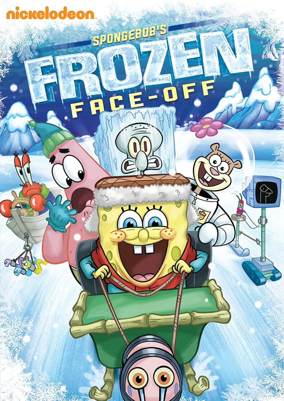 Spongebob's Frozen Face-Off DVD