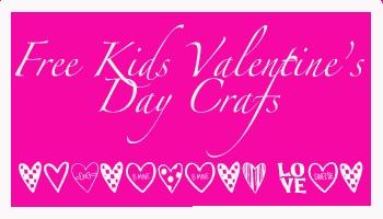 Free Valentines Crafts