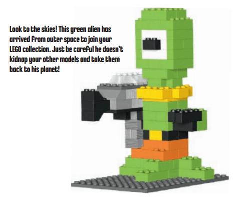 LEGO Alien Mini Build Instructions