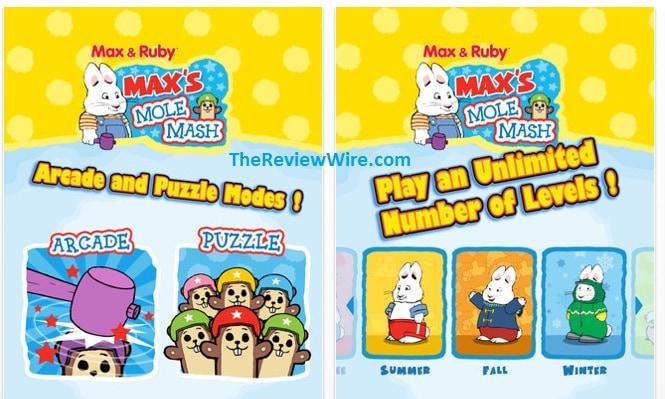 Max & Ruby: Max's Mole Mash