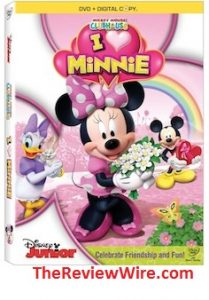 Mickey Mouse Clubhouse: I Heart Minnie DVD + Download a Minnie Mouse Valentine's Day Fun Pack
