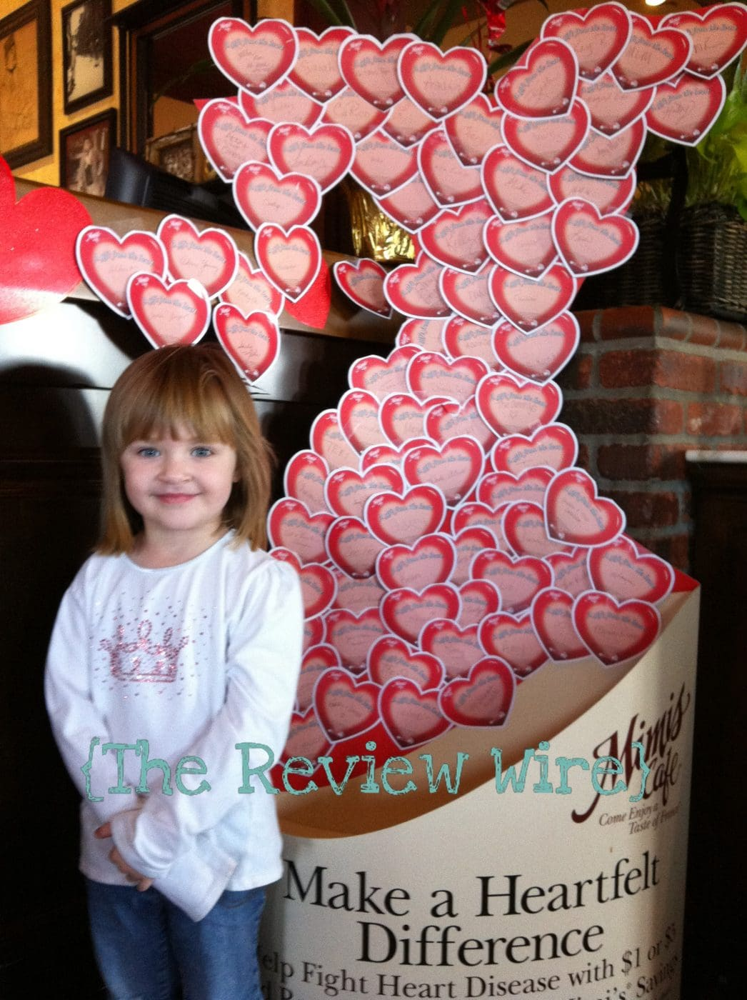 Go Red with Mimi's Cafe!