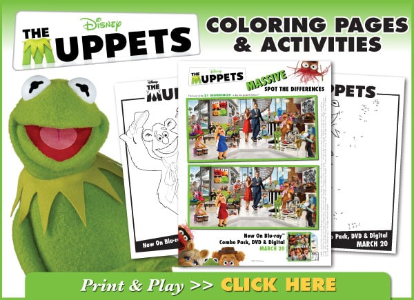 The Muppets Coloring Pages and Activities