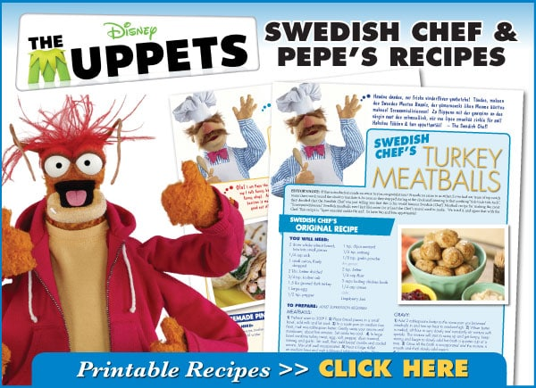 The Muppets Recipes
