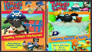 New Timmy Time DVD: Timmy Finds Treasure and Timmy Needs a Bath DVD