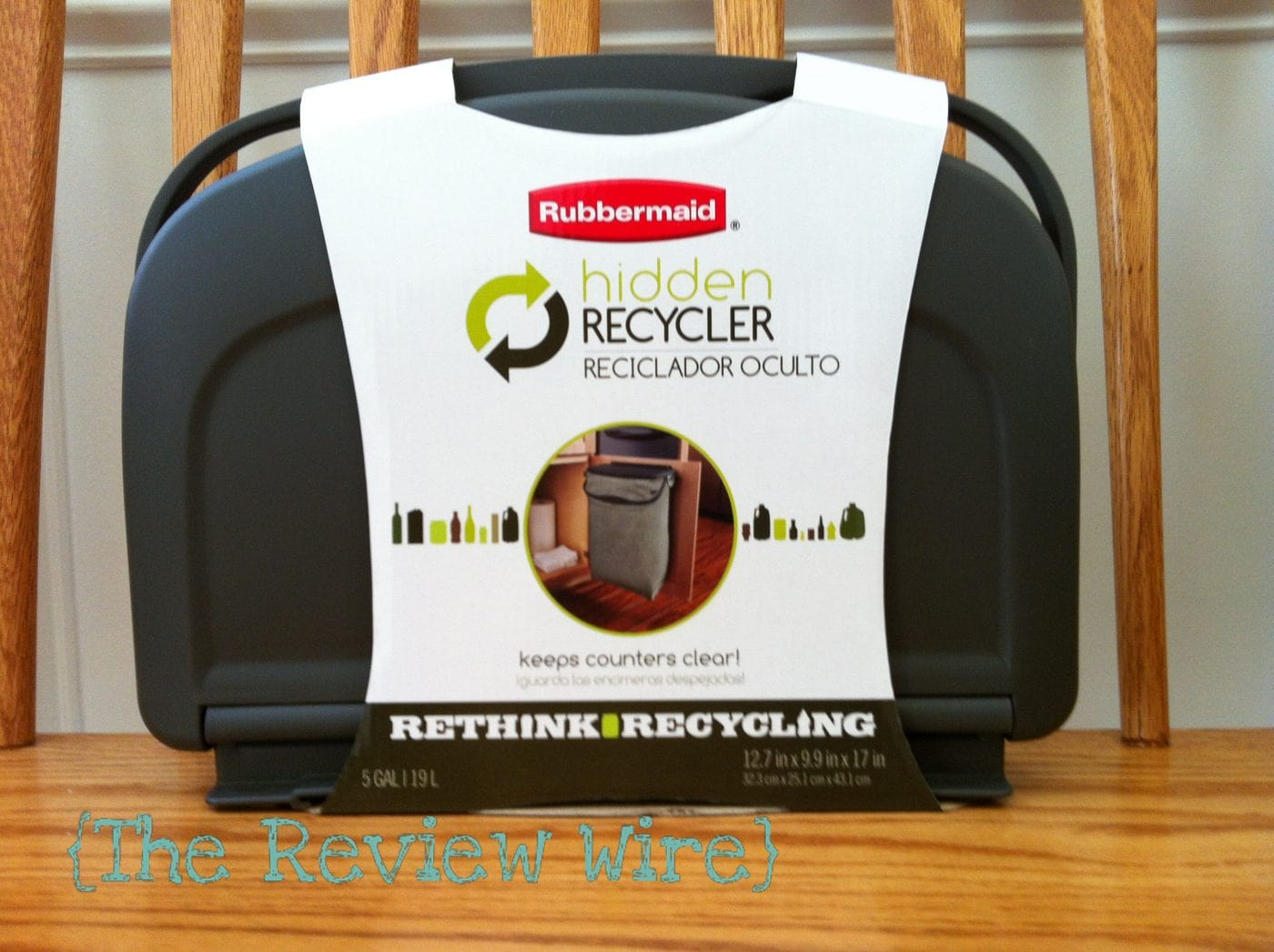 Rubbermaid Hidden Recycler Review