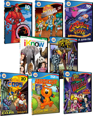 TVFlashbacks.com: 10 Kids Animated DVDs