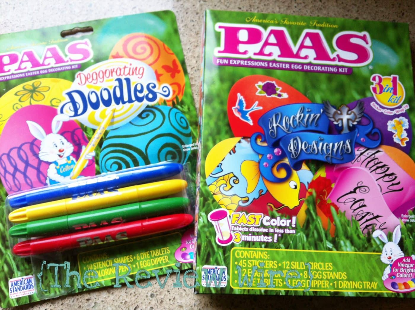 PAAS New Easter Egg Decorating Kits