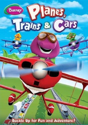 Barney- Planes, Trains & Cars DVD Review