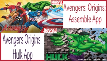 Apps: Avengers Origins: Hulk and Avengers: Origins: Assemble