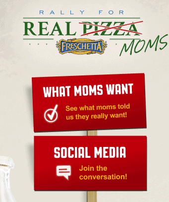 FRESCHETTA Pizza Rally For Moms