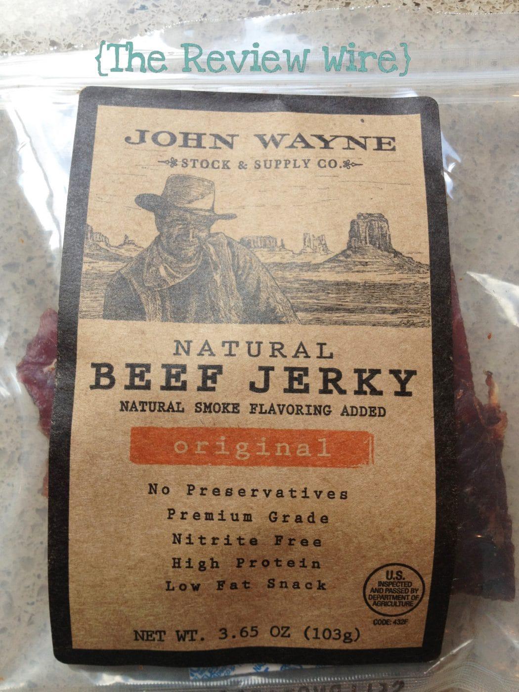 John Wayne Beef Jerky Review