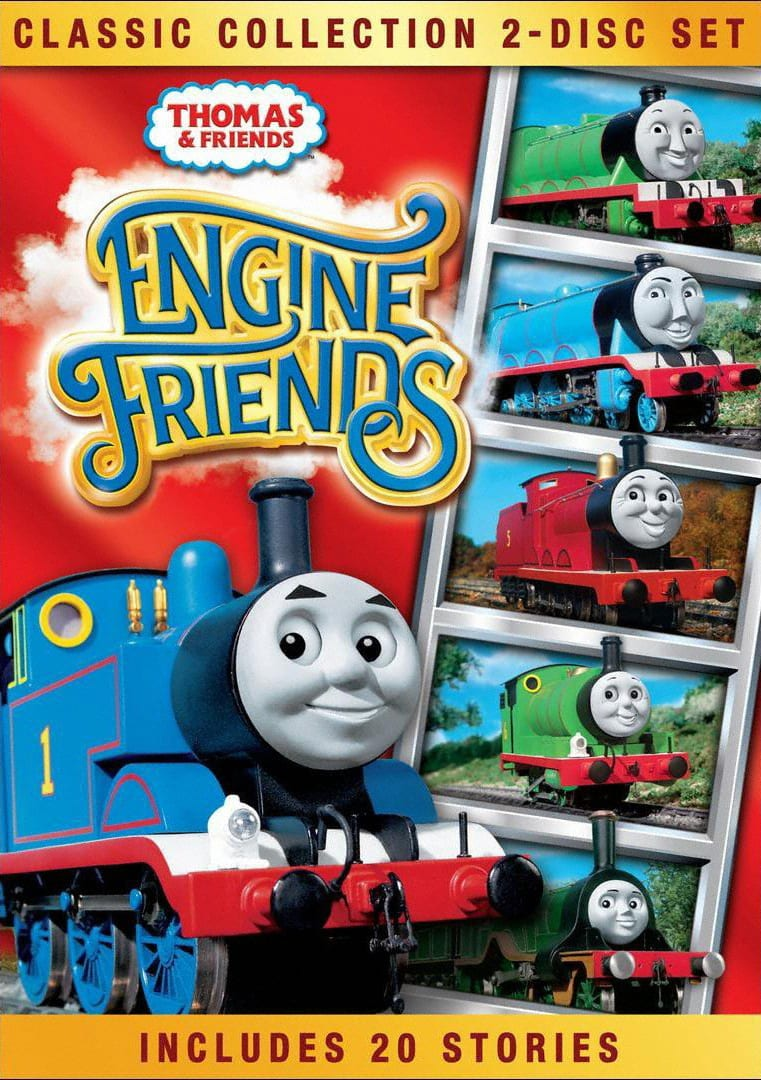 Thomas & Friends: Engine Friends DVD