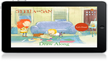 Draw Along with Stella and Sam iPad App