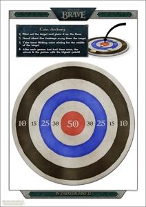 Brave Coin Archery