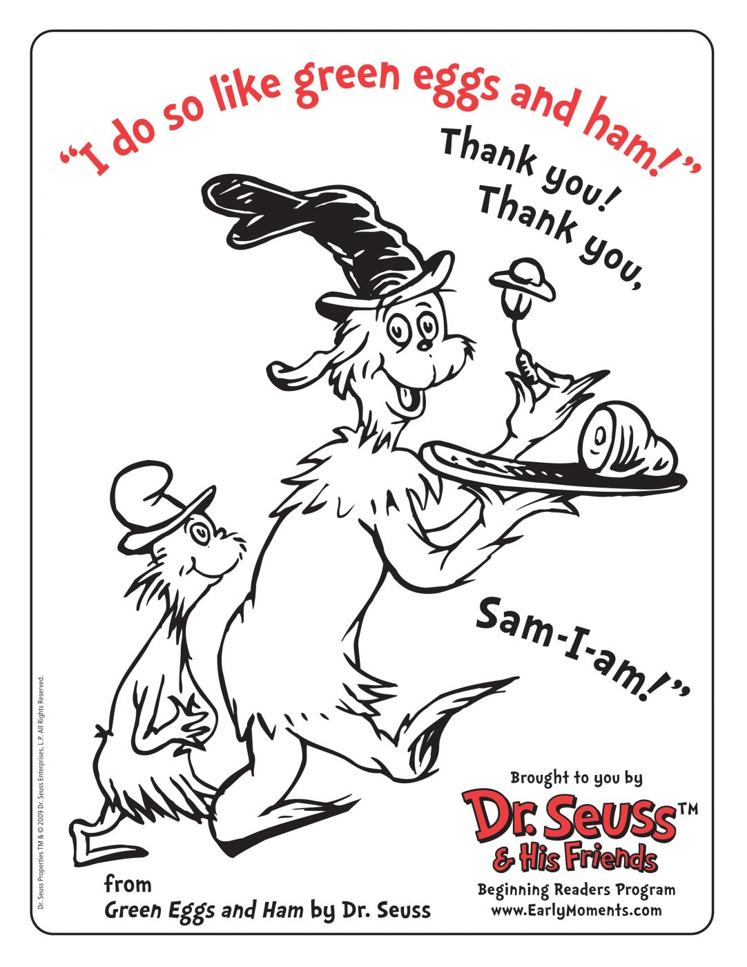 Dr Seusss Green Eggs And Ham Download A Dr Seuss
