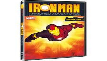 Iron Man: Armored Adventures Season 2, Volume 1 DVD