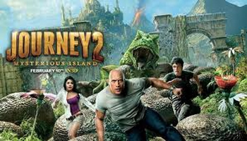 Journey 2: The Mysterious Island DVD