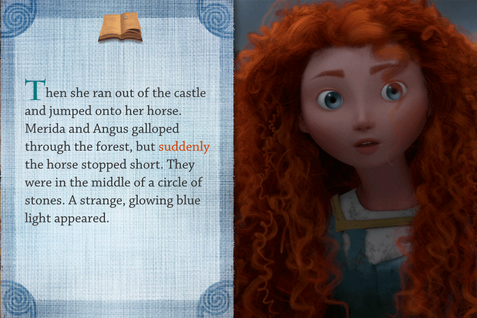 Disney Digital Books: Brave Storybook Deluxe App Review