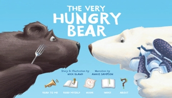 The Very Hungry Bear App
