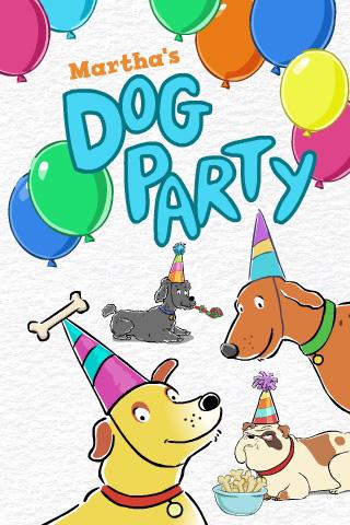 Martha Speaks Dog Party