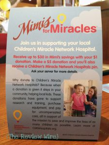 Mimi's Cafe Giveaway