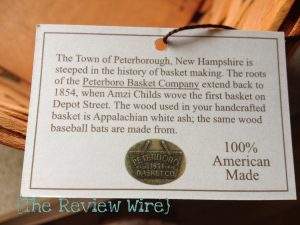 Peterboro Magazine Basket Review