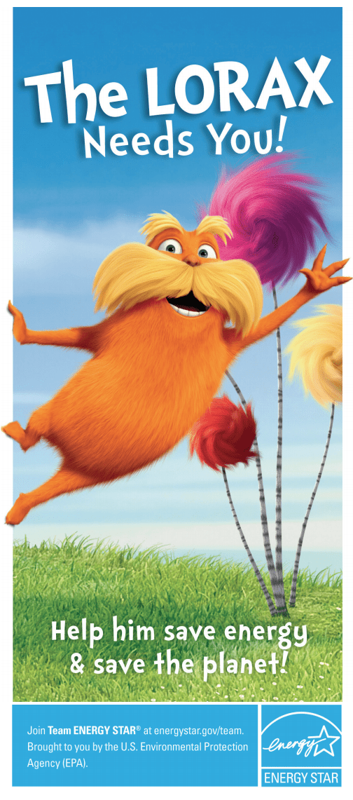 2012 Loarx Activity Booklet: The Lorax Needs you!