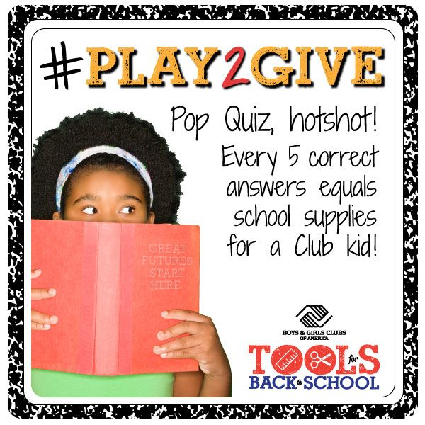 Back to School With Tools from Boys and Girls Club