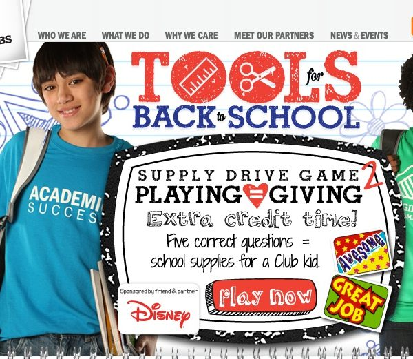 Tools for Back to School initiative