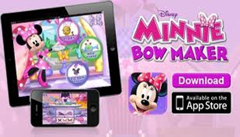 Disney Digital Books: Minnie Bow Maker App Review