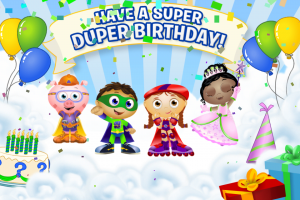 SUPER WHY Alpha Boost! App Review