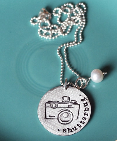 The Vintage Pearl Shutterbug Necklace