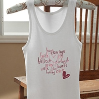 Love Life Personalized Ladies Tank