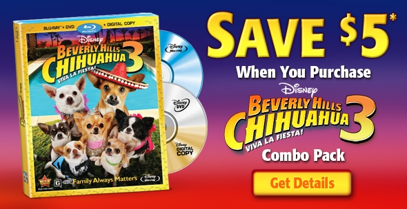 Beverly Hills Chihuahua 3 Coupon