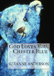 God Loves You. - Chester Blue by Suzanne Anderson