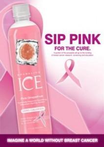 Sparkling ICE® Pink Grapefruit, Pink Ribbon Breast Cancer Awareness