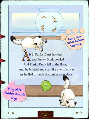 Punky Dunk and the Gold Fish App