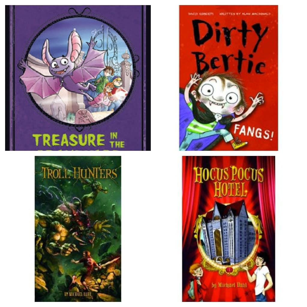 Capstone Halloween Books