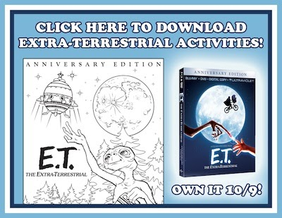 E.T. Printable Activities