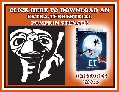 E.T. Pumpkin Stencil