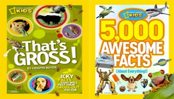 NatGeo Kids Gross Giveaway