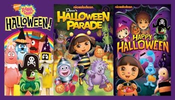 Nick Halloween DVD's