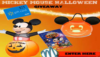 Win a Halloween Mickey Mouse Prize Pack