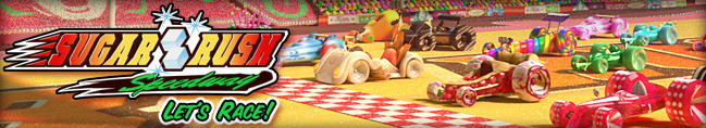 Play Sugar Rush Speedway featuring Vanellope von Schweet
