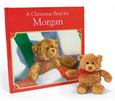 A Christmas Bear for Me Personalized Book